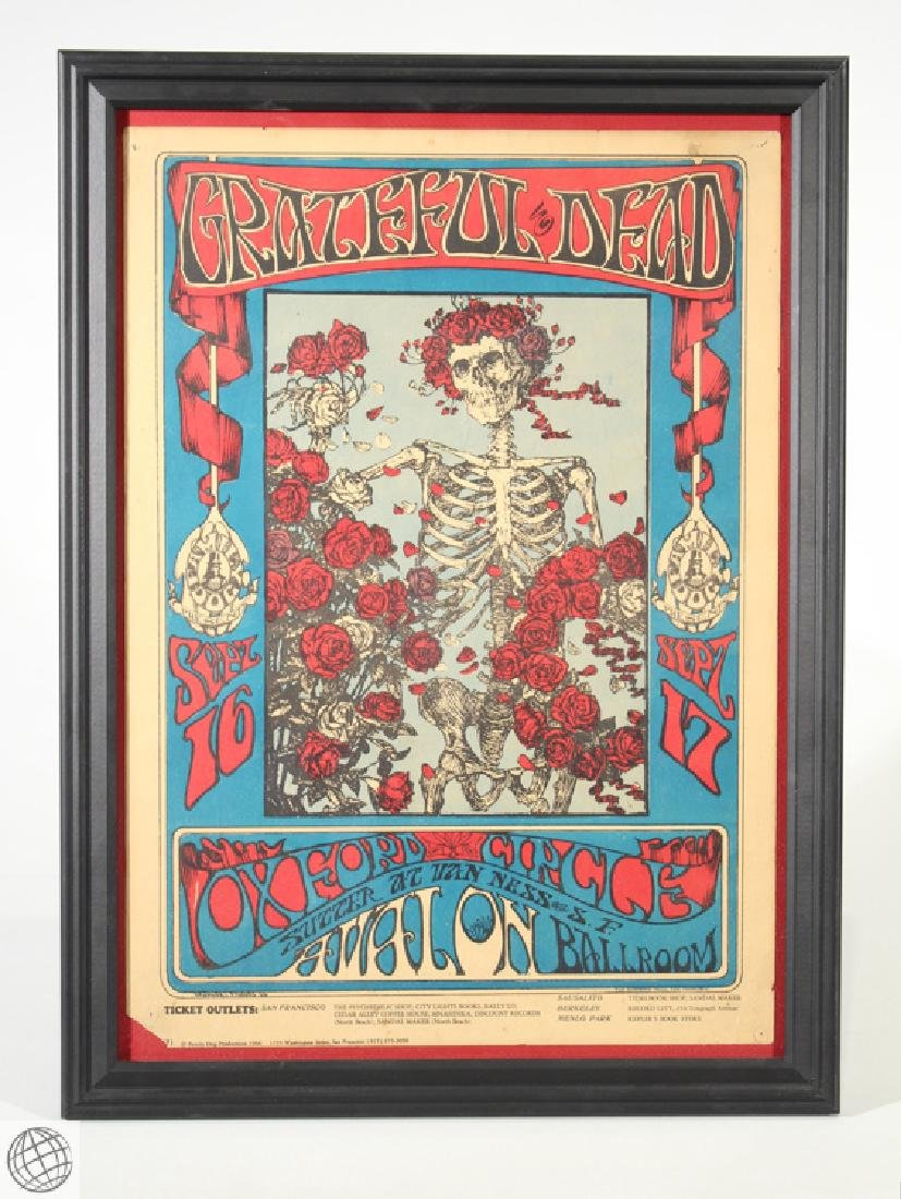 Grateful Dead Family Dog STANLEY MOUSE Rare Original