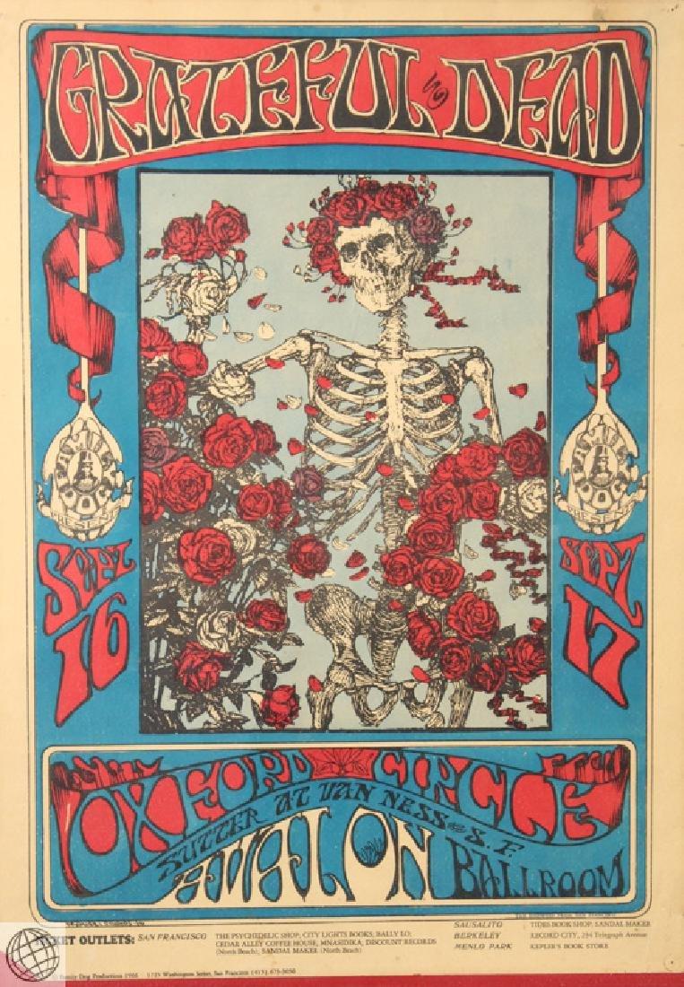 Grateful Dead Family Dog STANLEY MOUSE Rare Original - 2