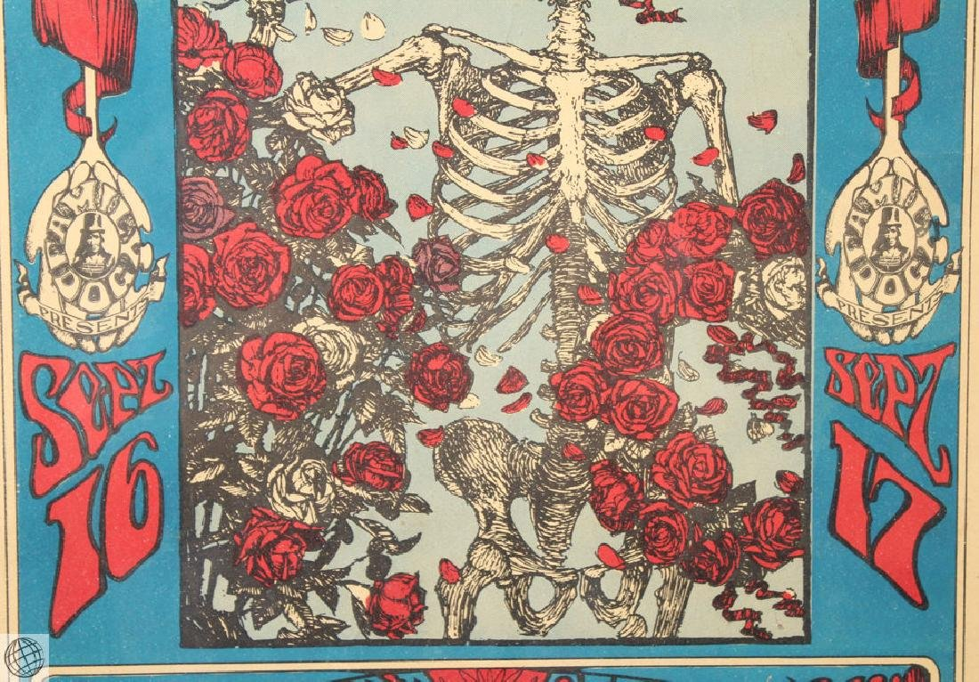 Grateful Dead Family Dog STANLEY MOUSE Rare Original - 4