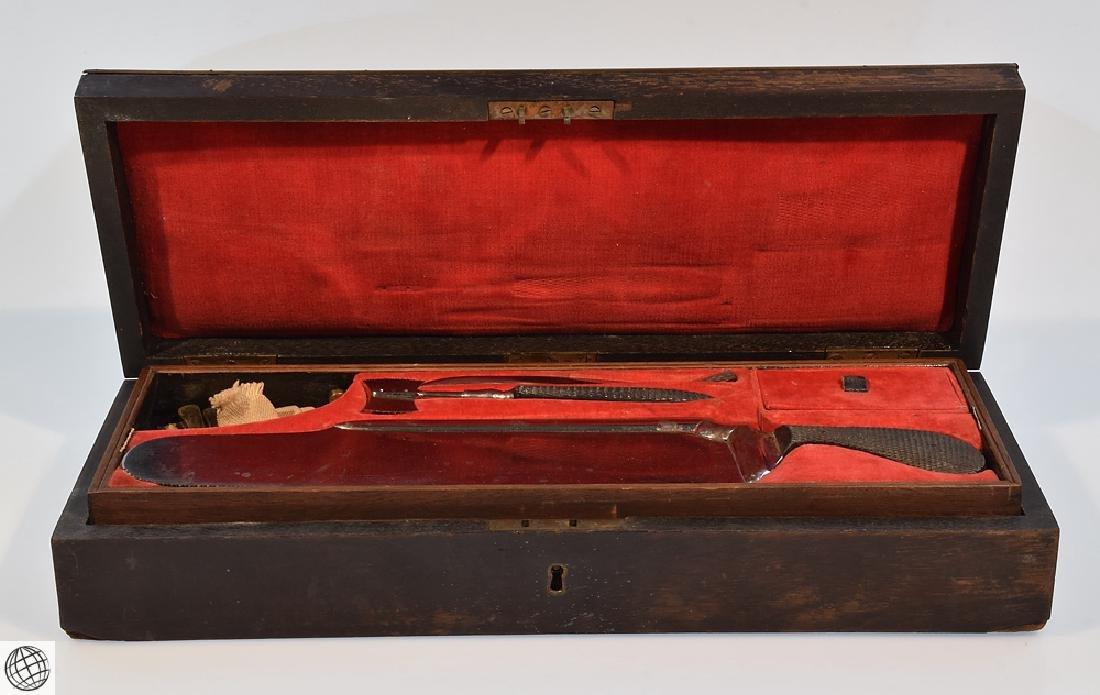 Civil War Era BOXED SURGICAL AMPUTATION INSTRUMENT SET