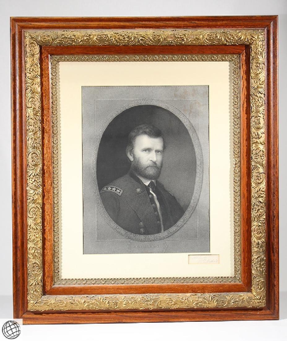 General Grant WILLIAM E. MARSHALL Antique Original 19th