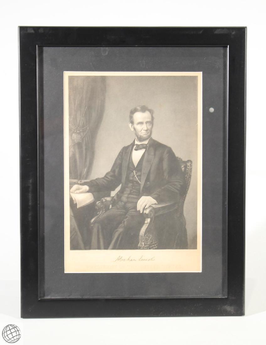 George Perine PRESIDENT ABRAHAM LINCOLN Emancipation