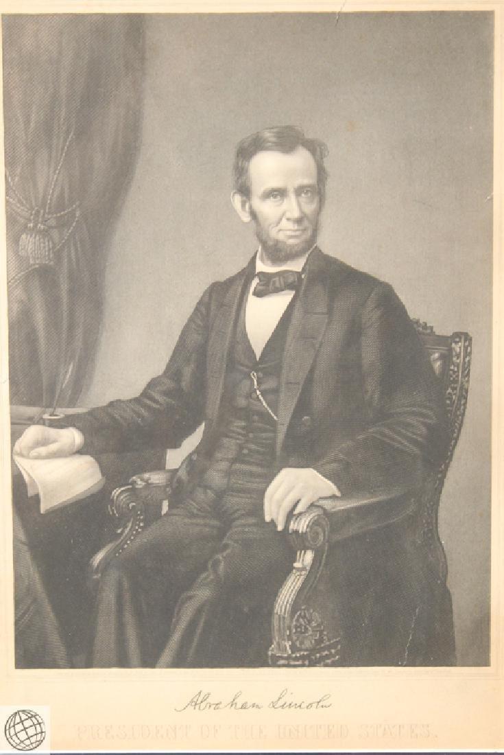 George Perine PRESIDENT ABRAHAM LINCOLN Emancipation - 2