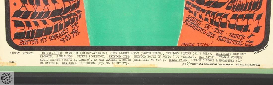 Vanilla Fudge STANLEY MOUSE & ALTON KELLEY 1967 - 5