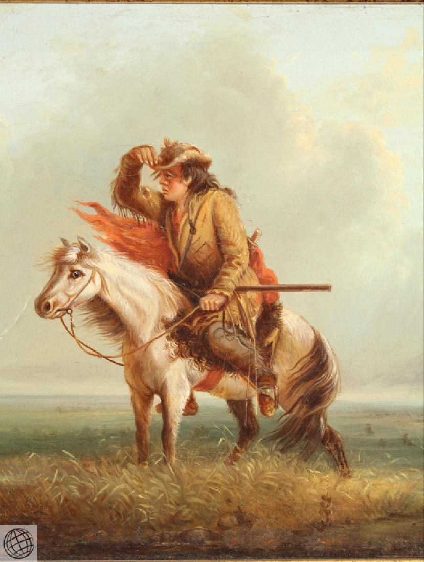 Lost On The Prairie LOUIS WAGNER 1877 Original Antique - 4