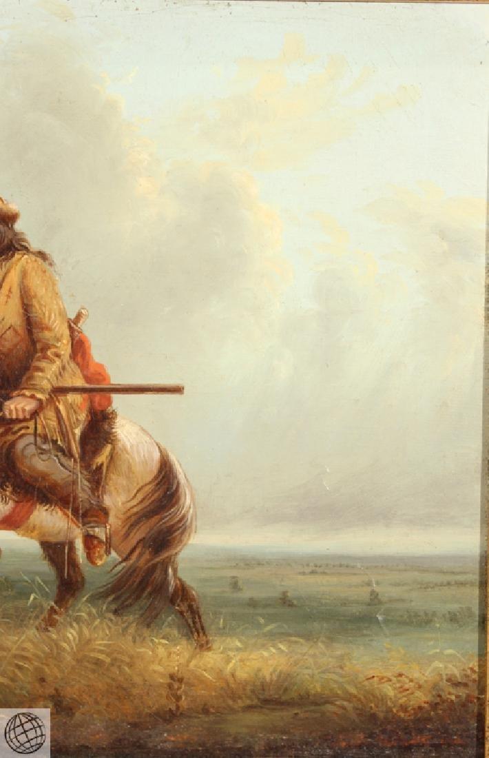 Lost On The Prairie LOUIS WAGNER 1877 Original Antique - 5