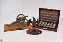 3 Pcs Cannon Replica DECORATIVE CIVIL WAR COLLECTIBLES