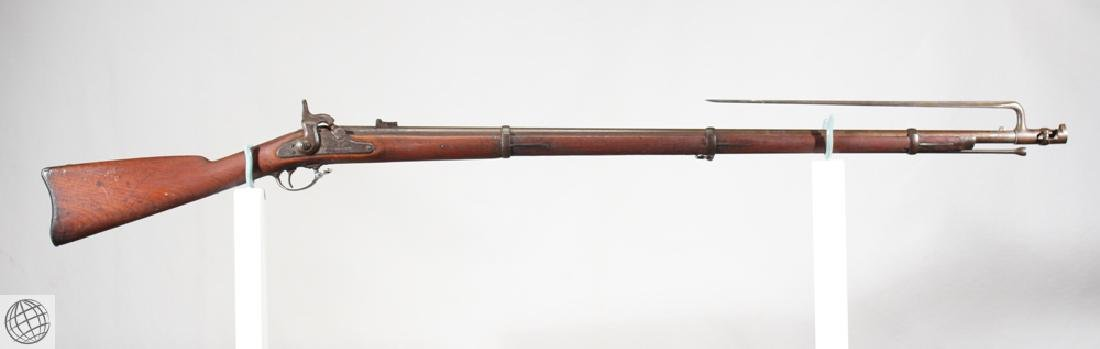 "Model 1861 SPRINGFIELD PERCUSSION RIFLED MUSKET 40"" Bbl"