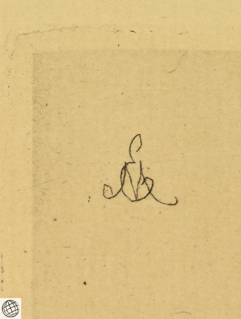Profile Charles Baudelaire EDOUARD MANET Original - 4