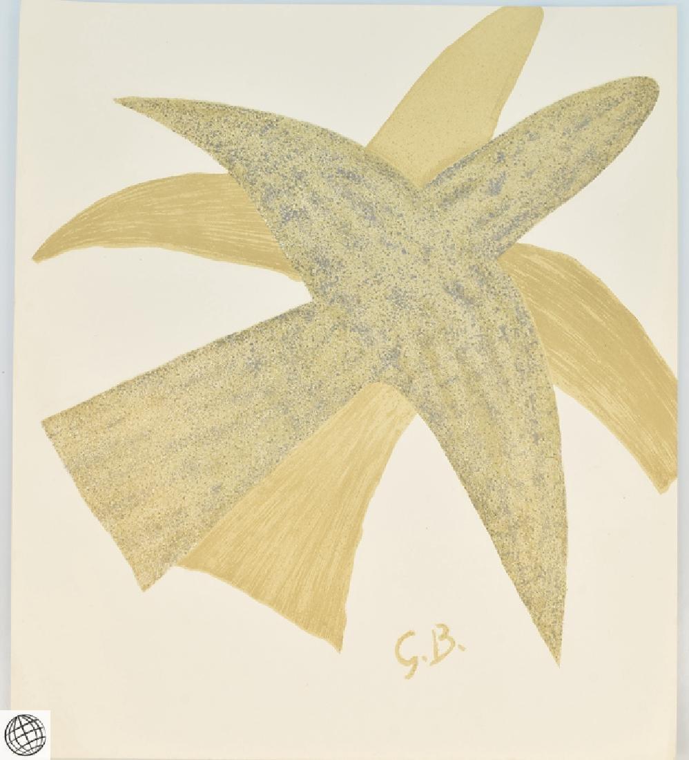 5Pcs Original Stone Lithographs GEORGES BRAQUE Vintage - 6