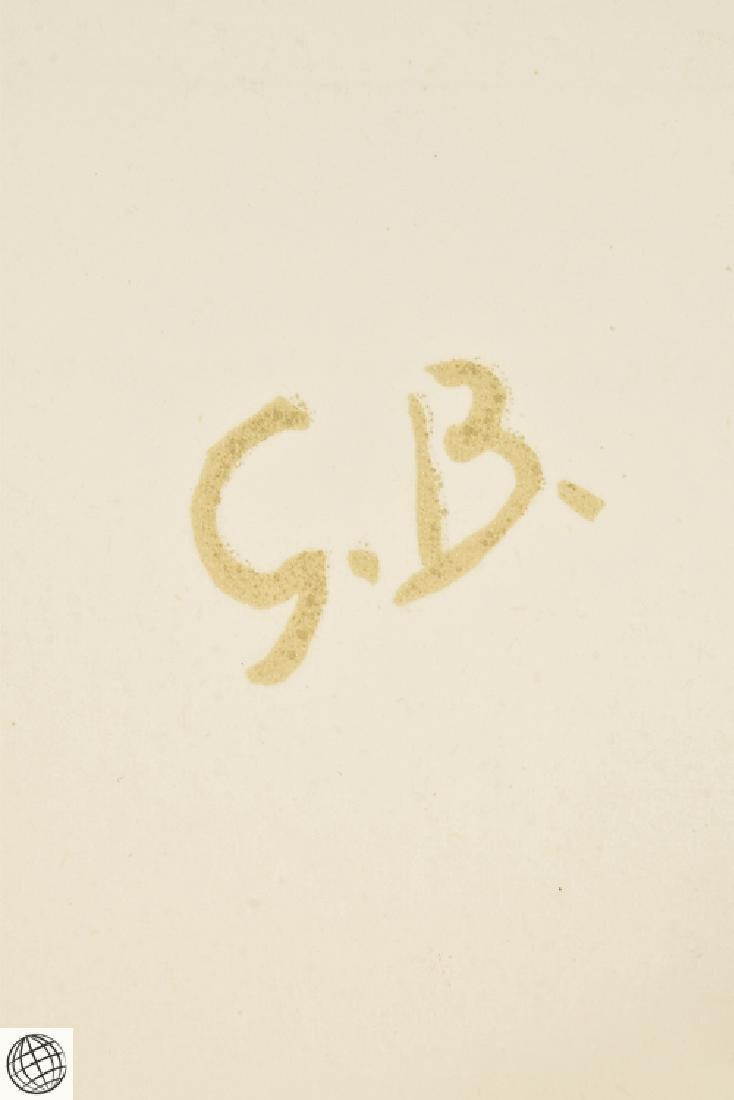 5Pcs Original Stone Lithographs GEORGES BRAQUE Vintage - 7
