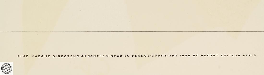 5Pcs Original Stone Lithographs GEORGES BRAQUE Vintage - 9