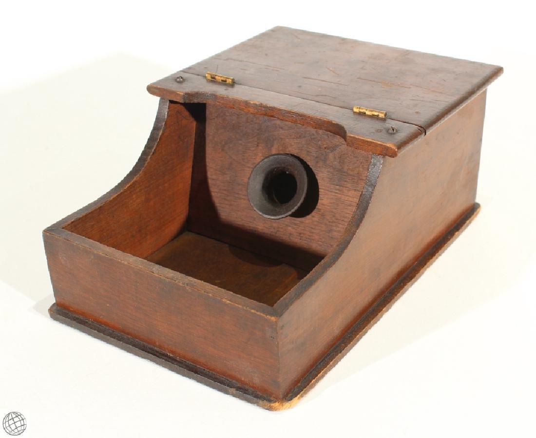 5Pcs Vintage WOODEN HANDHELD BALLOT VOTING BOXES Marble - 4
