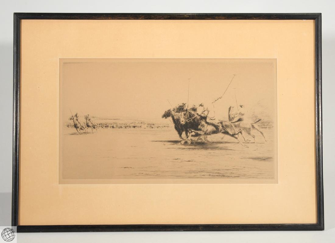 Polo KERR EBY C1927 Original Pencil Signed Numbered Ltd