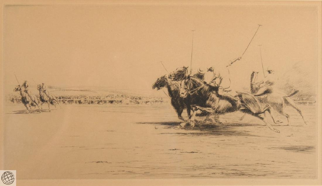 Polo KERR EBY C1927 Original Pencil Signed Numbered Ltd - 2