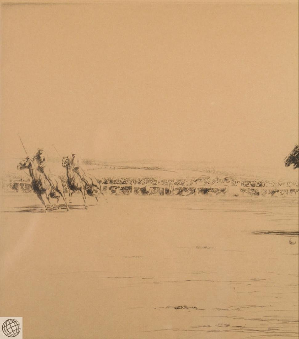 Polo KERR EBY C1927 Original Pencil Signed Numbered Ltd - 3