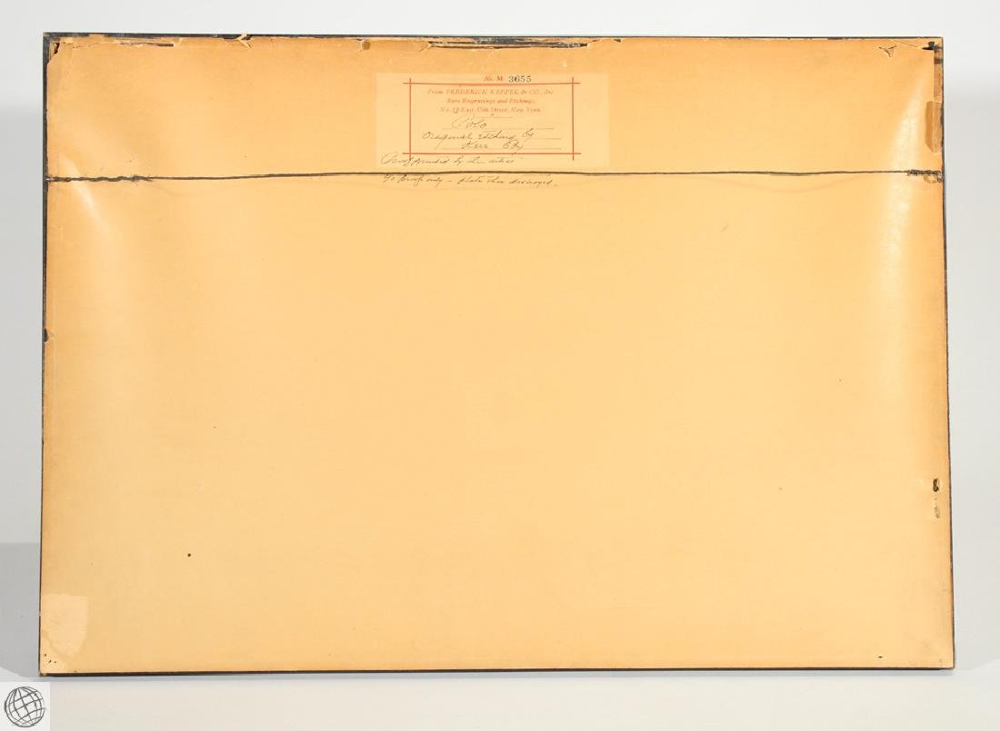 Polo KERR EBY C1927 Original Pencil Signed Numbered Ltd - 6