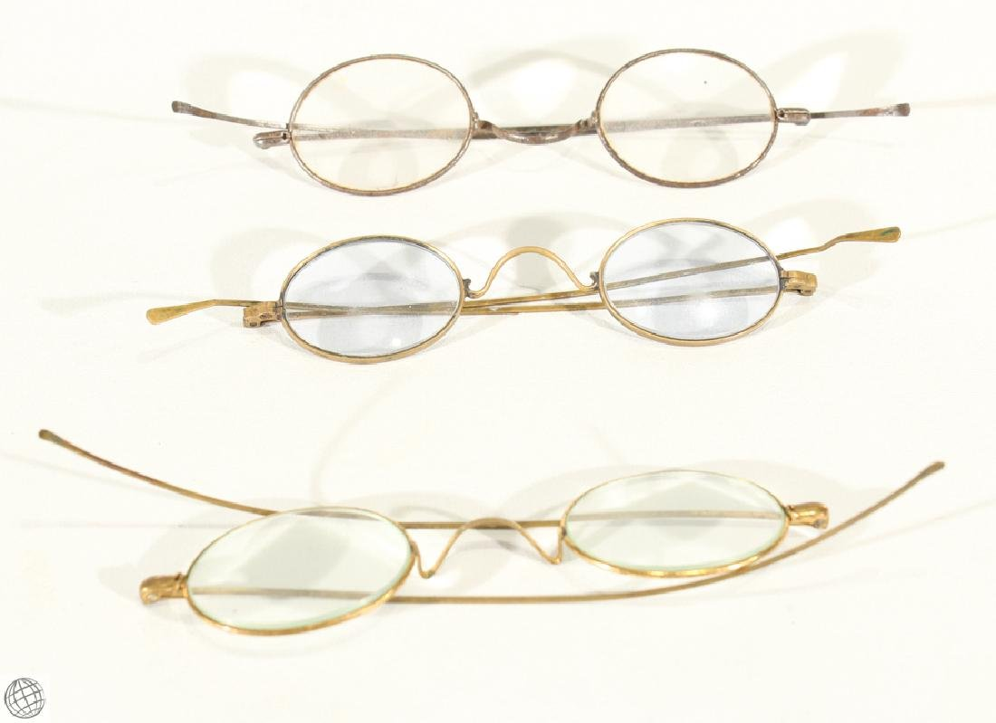 10Pcs Civil War Era ANTIQUE EYEGLASSES AND CASES - 8