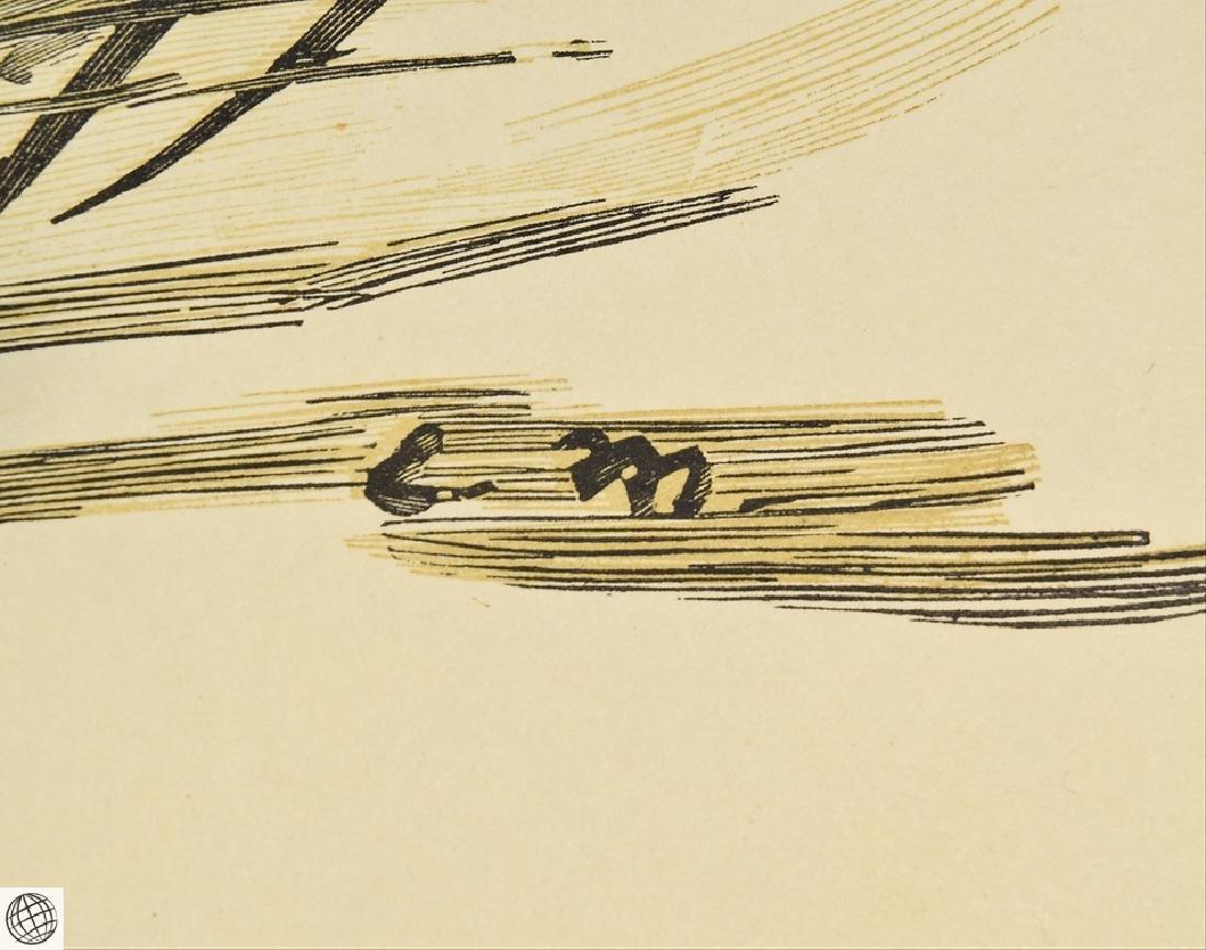 Olympia Alfred Prunaire EDOUARD MANET Original Antique - 6