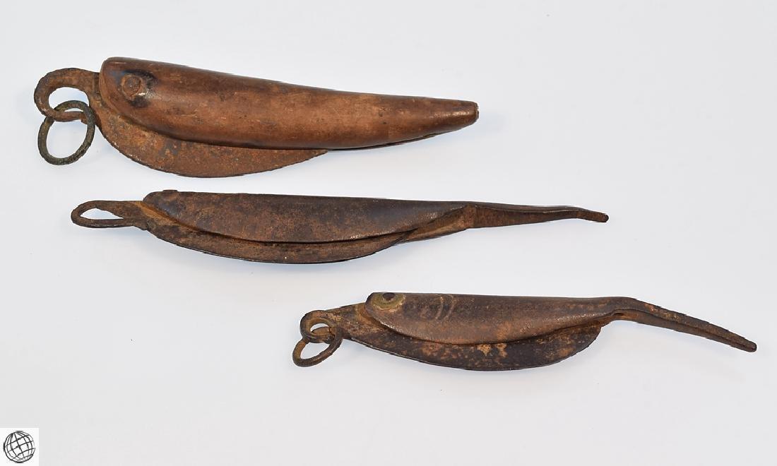 3Pcs Antique Nautical 19TH CENTURY FOLDING SAILORS