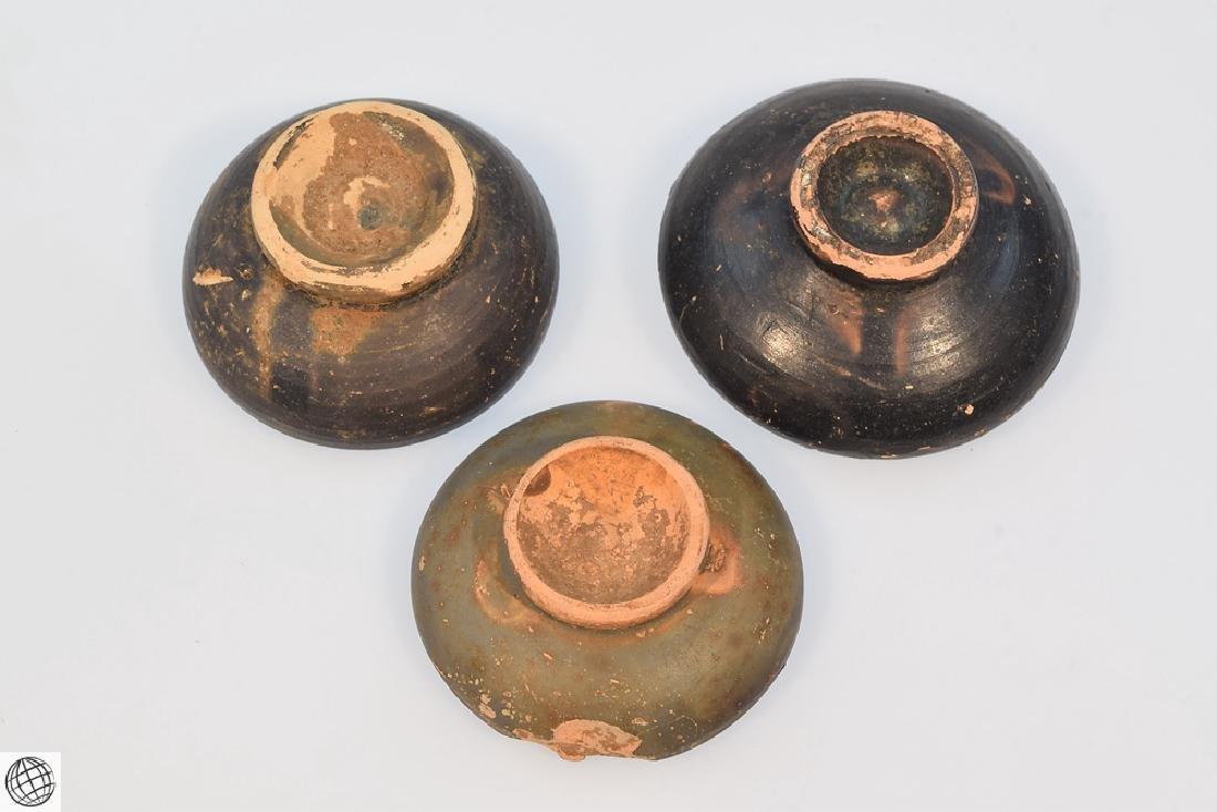 11Pcs Greco-Roman ANCIENT POTTERY Spice Bowls Plates - 10