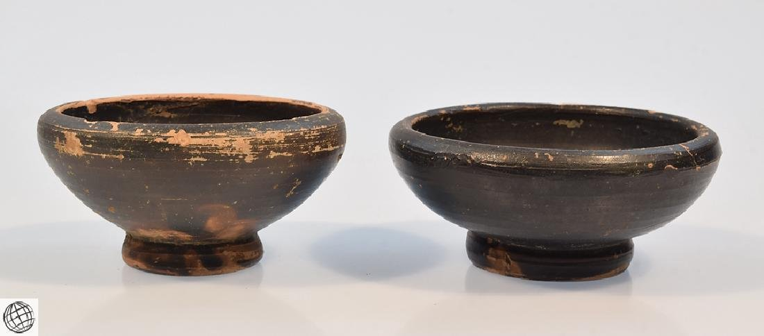 11Pcs Greco-Roman ANCIENT POTTERY Spice Bowls Plates - 2
