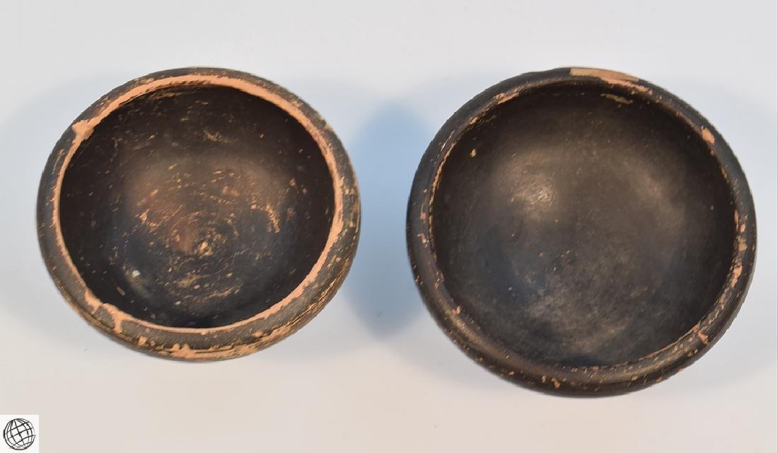 11Pcs Greco-Roman ANCIENT POTTERY Spice Bowls Plates - 3