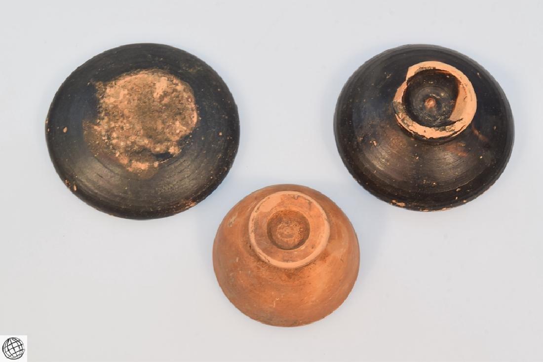 11Pcs Greco-Roman ANCIENT POTTERY Spice Bowls Plates - 7