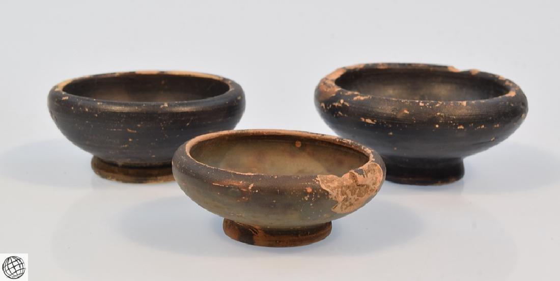 11Pcs Greco-Roman ANCIENT POTTERY Spice Bowls Plates - 8