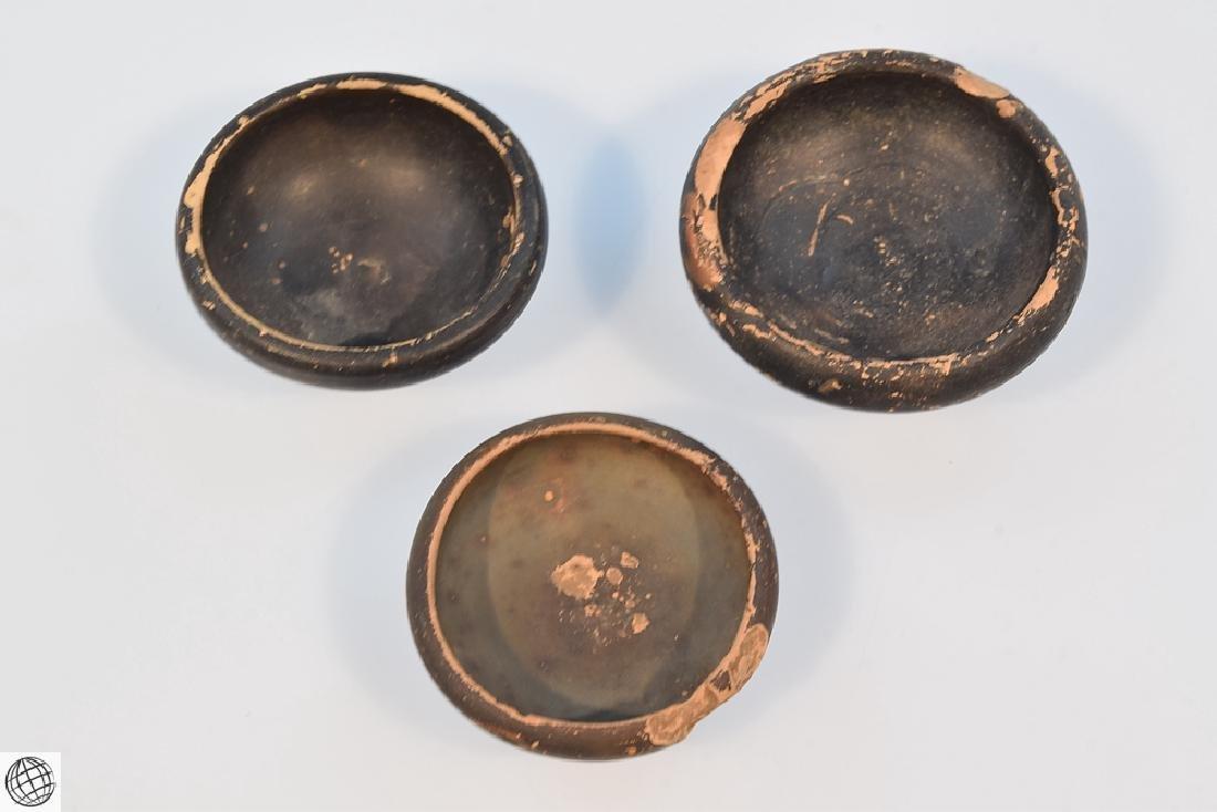 11Pcs Greco-Roman ANCIENT POTTERY Spice Bowls Plates - 9