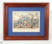 Chattanooga CURRIER  IVES Original Hand Colored