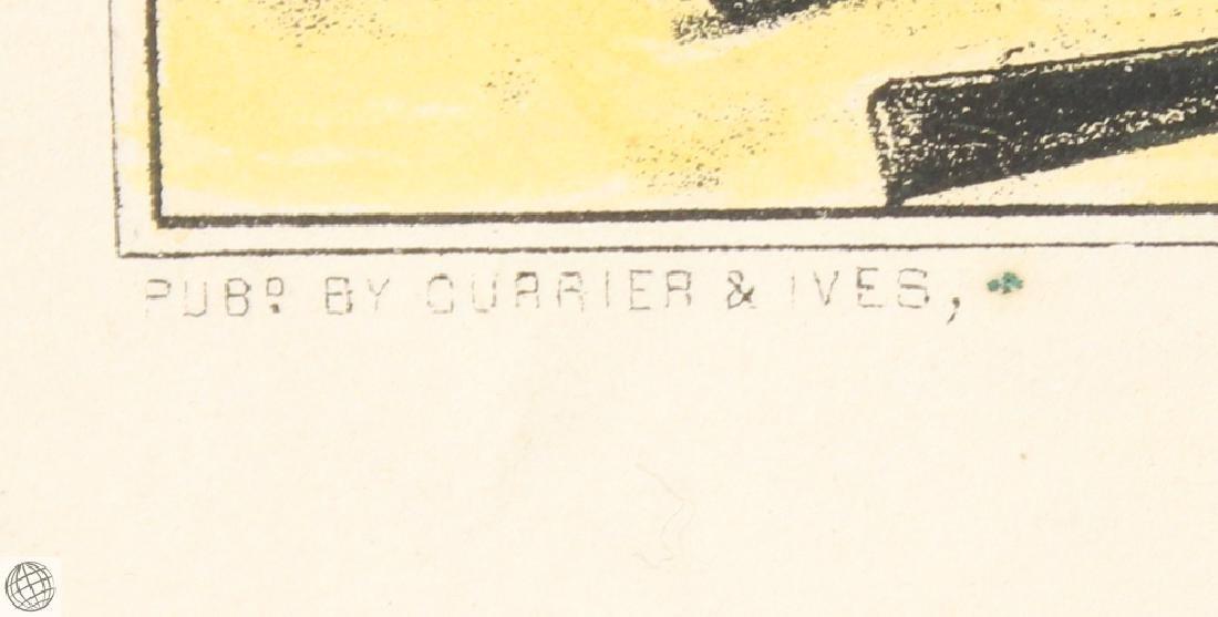 Pea Ridge Arkansas CURRIER & IVES Original Hand Colored - 5