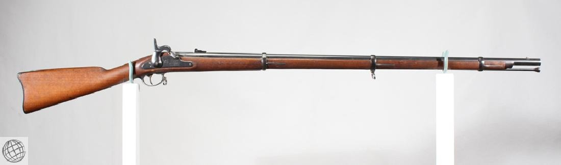 "Mowry Contract 1861 PERCUSSION RIFLED MUSKET 40"" Bbl"