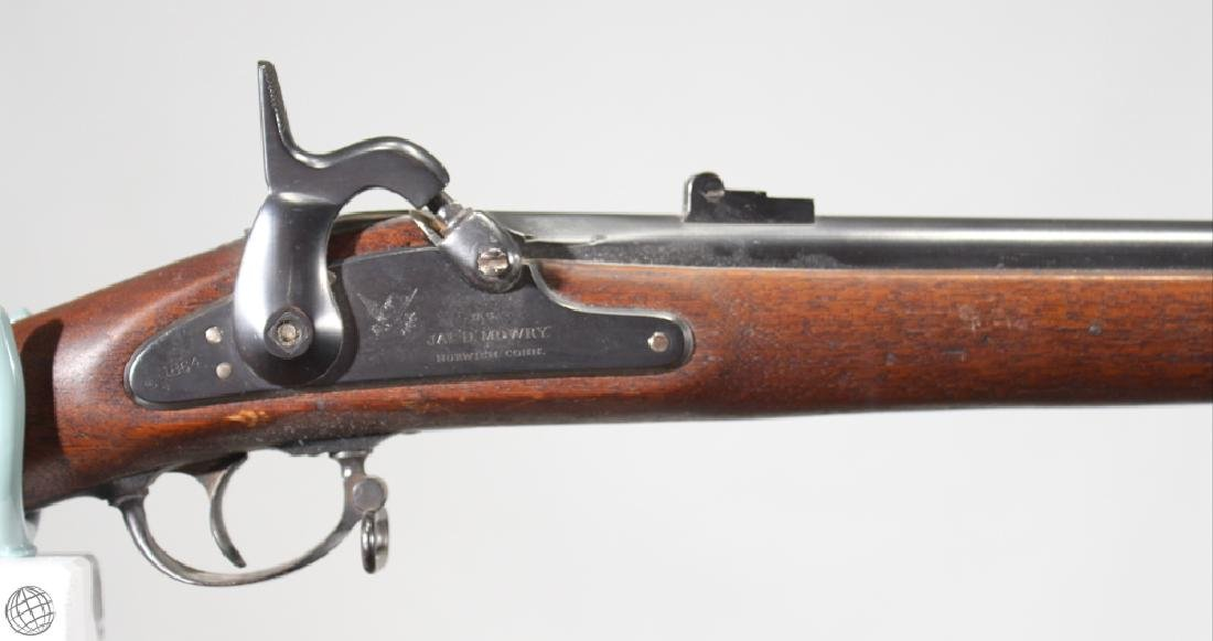 "Mowry Contract 1861 PERCUSSION RIFLED MUSKET 40"" Bbl - 3"