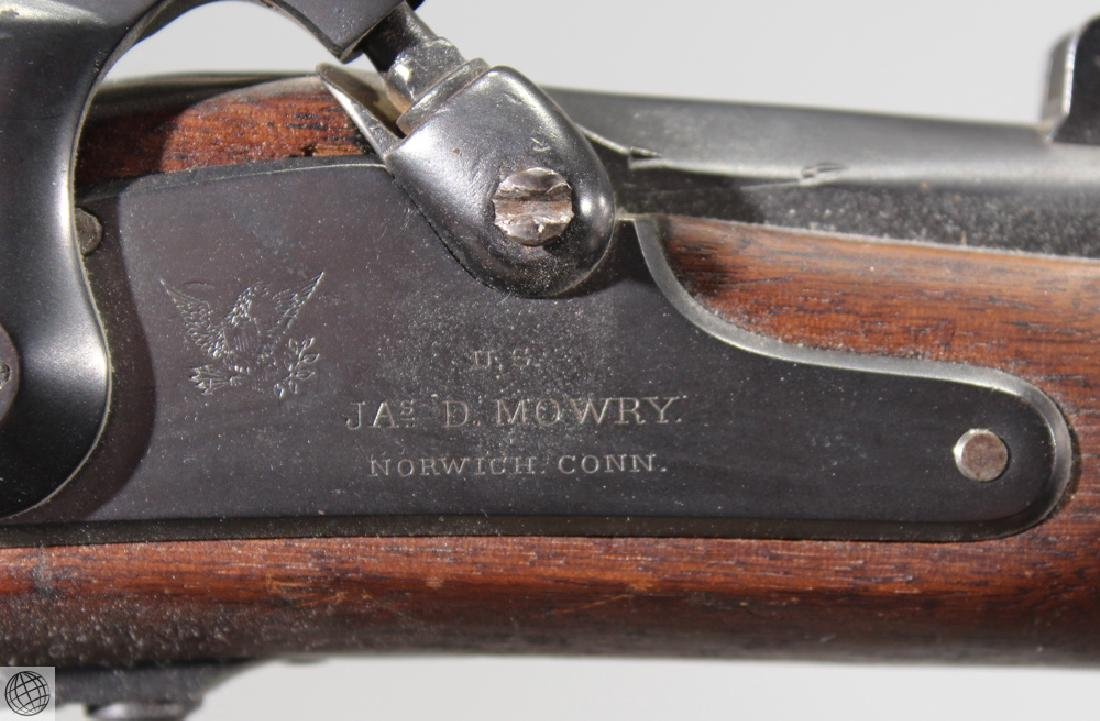 "Mowry Contract 1861 PERCUSSION RIFLED MUSKET 40"" Bbl - 5"