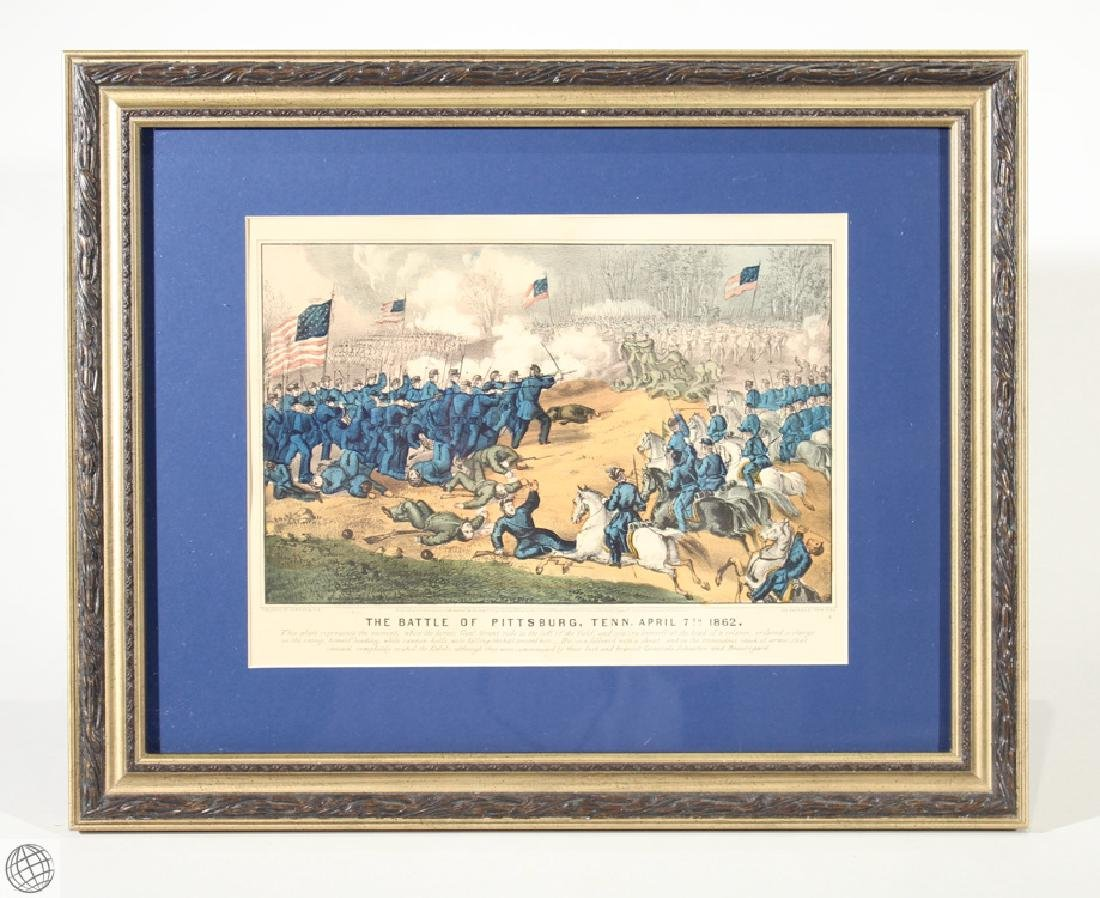 Pittsburg Tennessee CURRIER & IVES Original Hand