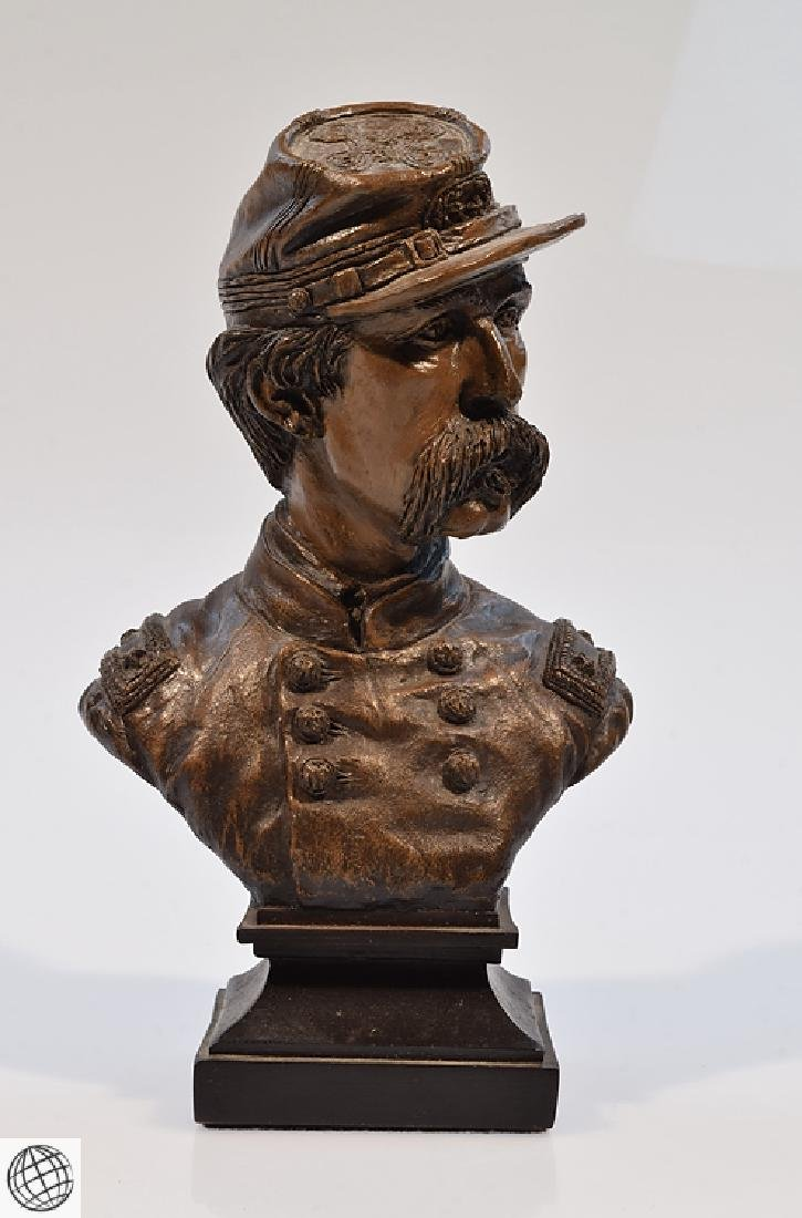Civil War BRIGADIER GENERAL CHAMBERLAIN RESIN BUST