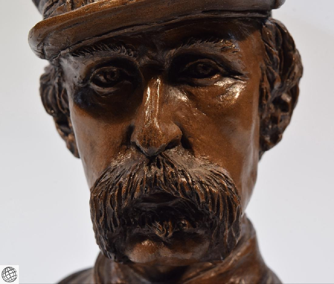Civil War BRIGADIER GENERAL CHAMBERLAIN RESIN BUST - 2