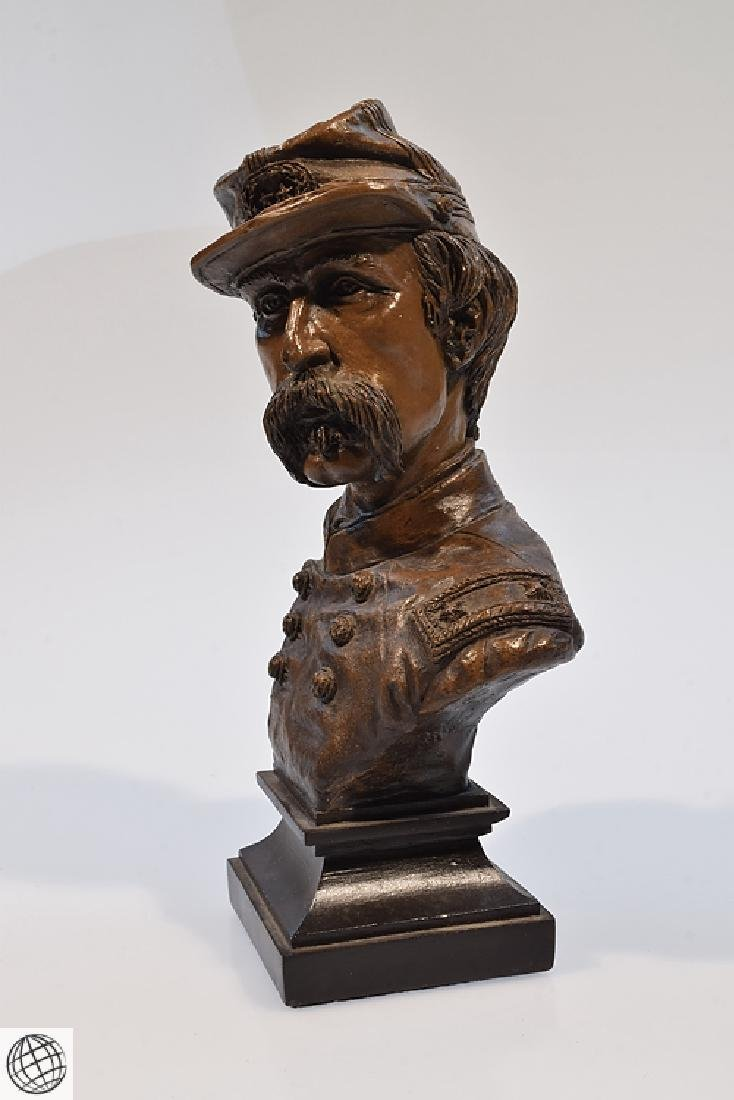 Civil War BRIGADIER GENERAL CHAMBERLAIN RESIN BUST - 4