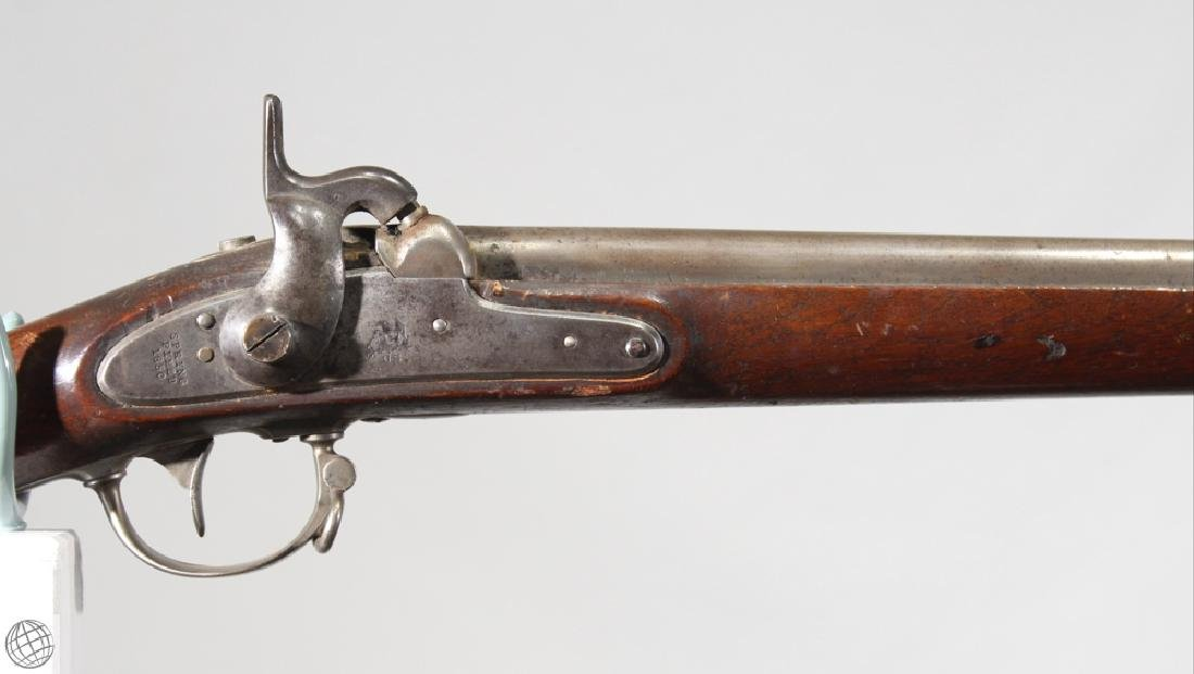 "US Model 1842 SPRINGFIELD MUSKET Lock Dated 1850 42"" - 2"