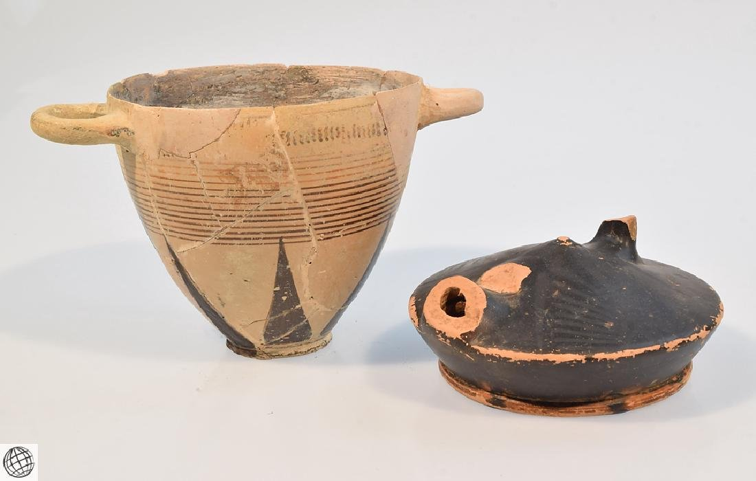 10Pcs Alabastrons Lekythos ANCIENT GRECO-ROMAN POTTERY - 2