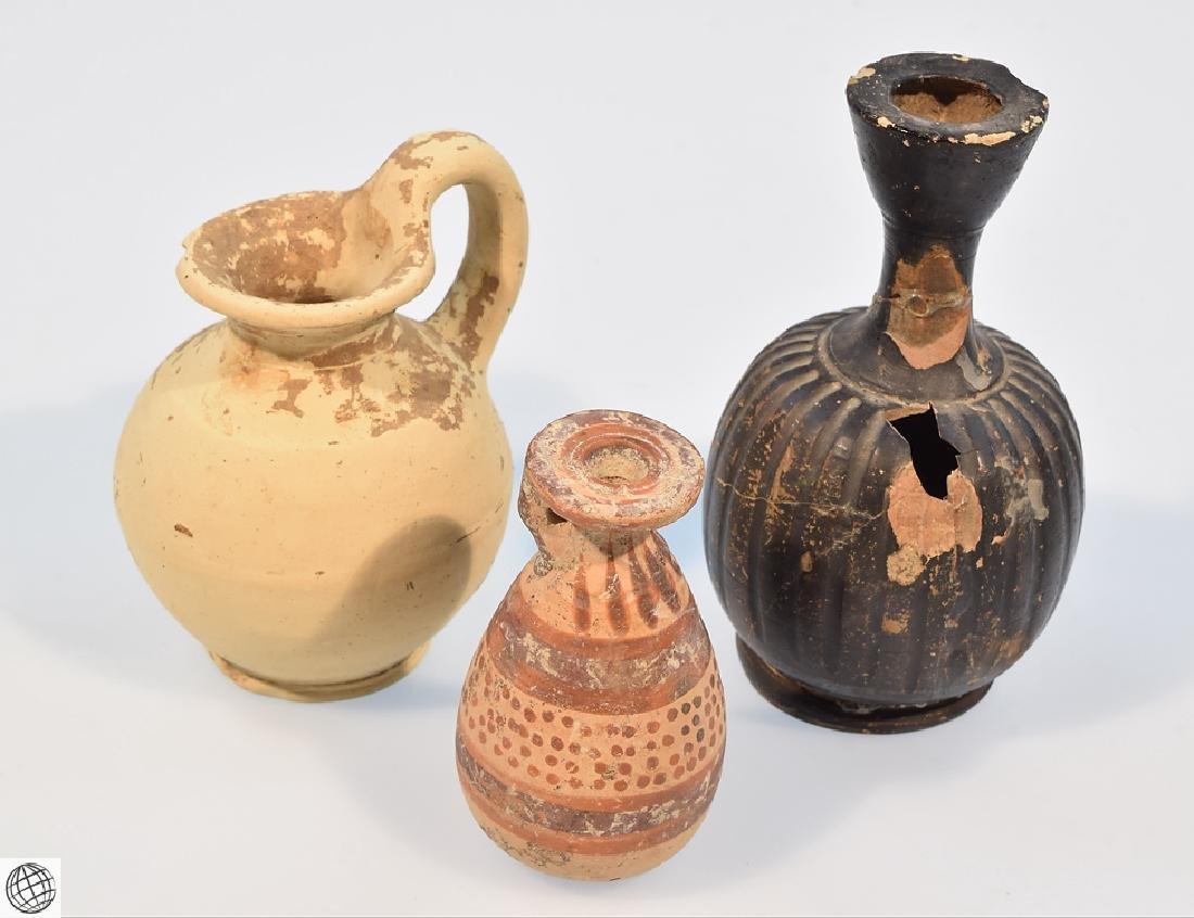 10Pcs Alabastrons Lekythos ANCIENT GRECO-ROMAN POTTERY - 5