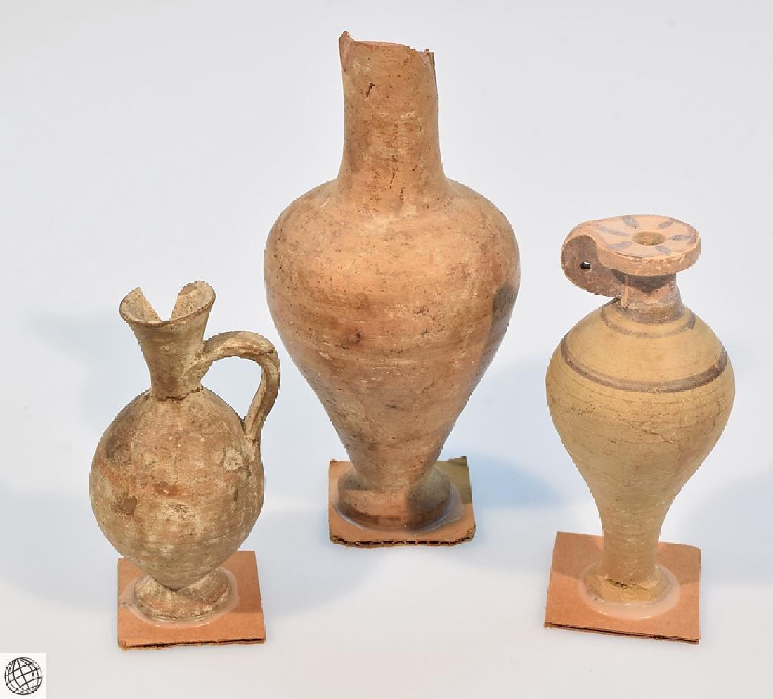 10Pcs Alabastrons Lekythos ANCIENT GRECO-ROMAN POTTERY - 9
