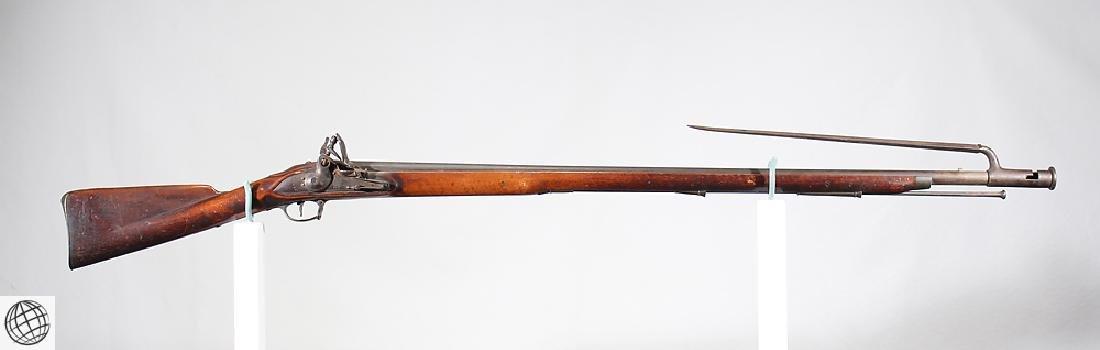 """British Third Model FLINTLOCK BROWN BESS 39"""" Bbl Liege"""