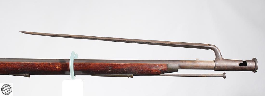"""British Third Model FLINTLOCK BROWN BESS 39"""" Bbl Liege - 5"""