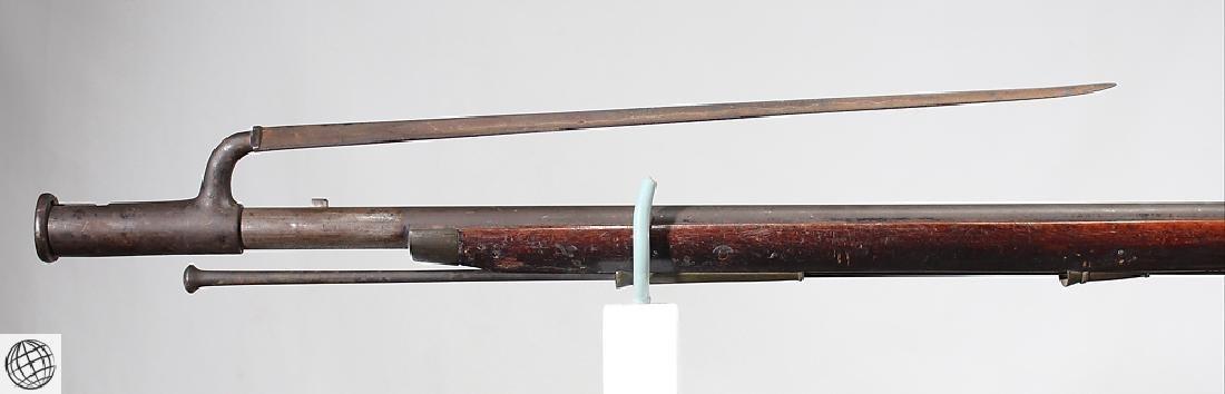 """British Third Model FLINTLOCK BROWN BESS 39"""" Bbl Liege - 6"""
