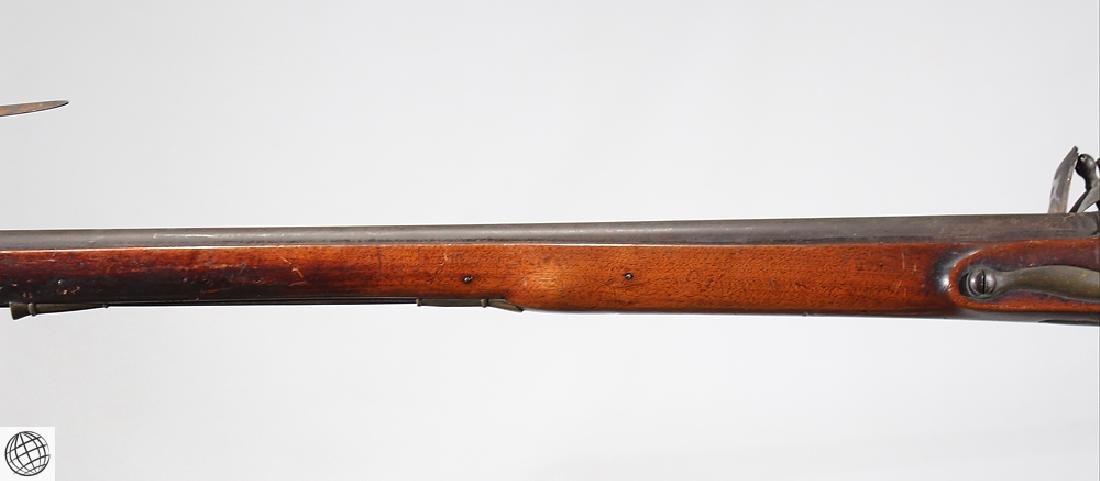 """British Third Model FLINTLOCK BROWN BESS 39"""" Bbl Liege - 7"""