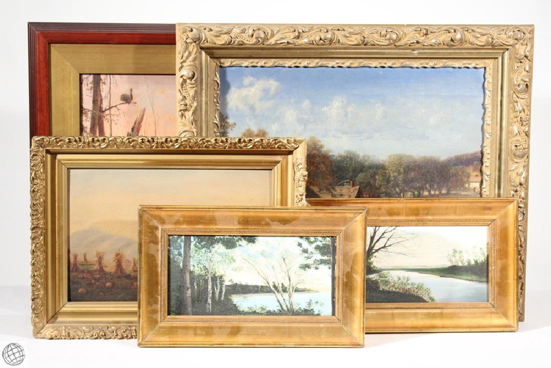Baumbeg King Verne Shilton ANTIQUE LANDSCAPE OIL