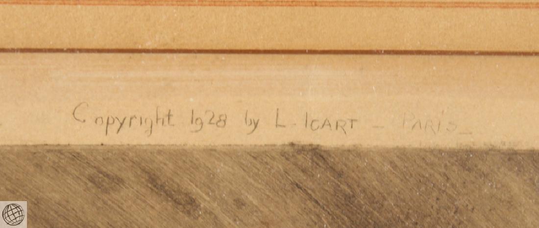 Don Juan LOUIS ICART Original Signed Numbered Ltd Ed - 8
