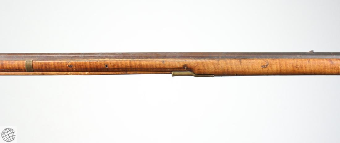 American KENTUCKY LONG RIFLE Flintlock Carved - 8